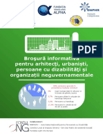 Brosura Pentru Arhitecti, Urbanisti