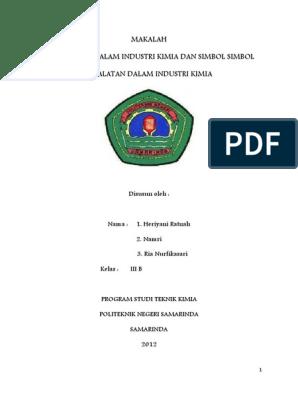 234287106 Makalah Proses Industri Kimia Pdf