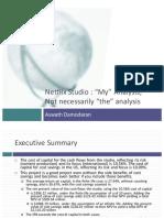 NetFlix Presentation