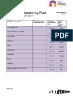 Unit 5 - Learning Plan