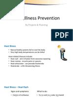 Heat Stress Management