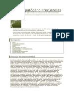 ADN del patógeno Frecuencias.docx