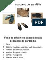 Fazer Um Projeto de Sandália