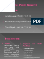 PPT Educational Design Research