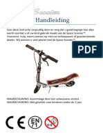 Space Scooter Handleiding