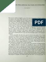Philippine Fiction Post-war