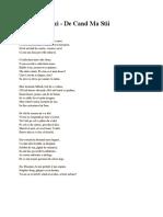 poezie arghezii