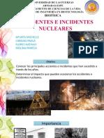 Accidentes e Incidentes Nucleares 1