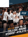 17-18 ncaa guidelines