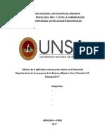 Comunicacion Interna y Desarrollo Organizacional