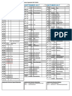 Kalender 1718