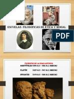 CLASE II escuelas filosóficas de  moral y ética