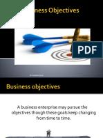 Unit 1 Objectives BBA