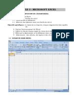 Cours d' Excel 2007