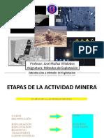 métodos de explotación en mineria
