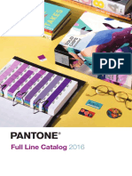 PANTONE Full Line Color Standards Tools Catalog 2016
