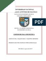 Maquinaria y Equipos Mineros Costos de Pala Neumatica y Carro Minero