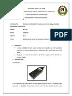 Informe de Sonometro