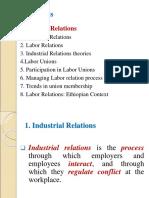 2.2.9 Industrial Relations