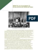 Discours Du Pape BENOIT XV
