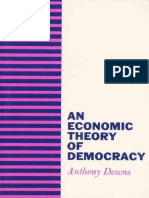 Anthony Downs-An Economic Theory of Democracy-Harper and Row (1957)