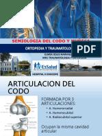 ANATOMIA Y SEMIOLOGIA DEL CODO Y MUÑECA.pptx