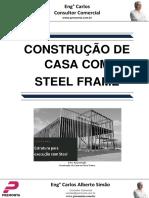 Construção de Casa Com Steel Frame