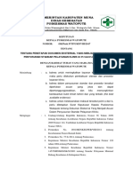 9.2.2.3 SK Penetapan Dokumen Eksternal Yang Menjadi Acuan Dalam Penyusunan Standar Pelayanan Klinis