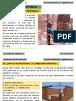 POWER CONSTRUCCIONES I Albañilería Confinada y Armada