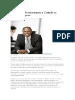 Processos de Monitoramento e Controle Na Gestão de Projetos