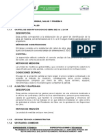 1. Especificaciones Tecnicas Demoliciones, Seguridad y Salud