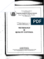 Metrology Quality Control Textbook