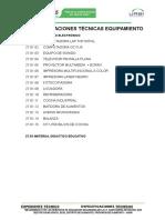 16. ESPECIFICACIONES TECNICAS  EQUIPAMIENTO.doc