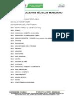 15. ESPECIFICACIONES TECNICAS  MOBILIARIO.doc