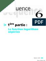 5. Fonction Logarithme Népérien