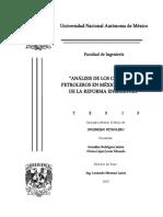 Tesis Análisis de Los Contratos Petroleros en México