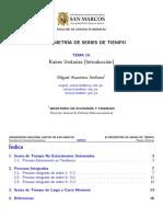 Ataurima-Arellano M. (2017i) 010. Raices Unitarias (Introduccion)
