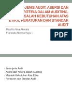 Jenis-jenis Audit, Asersi dan Kriteria dalam Auditing FIX.ppt