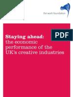 The Work Foundation - Economic Performance of UK's Creative Industry