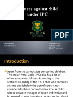 Offences Related to Children Under IPC
