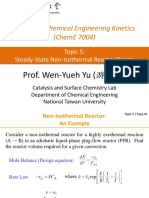 Topic 5 Steady-State Non-Isothermal Reactor Design (1120)