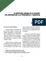 Ecuador Estructura Agraria