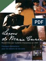Marie Curie, Isabelle Chavannes-Lecons de Marie Curie _ Physique Elementaire