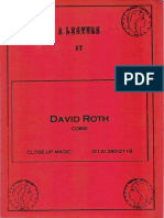 David Roth Lecture 1