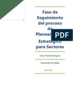 Guía Metodológica para implementar el Seguimiento de la Gestión Estratégica en las entidades públicas