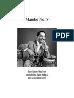 MAMBO No. 8 Portada