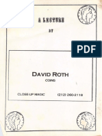 David Roth Lecture 2