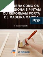 e Book 1 Rev. 2 Como Pintar Porta de de Madeira Maciça 1 (1)