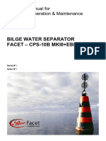Bilge water separator - CPS-10B MKIII+EBM14X2