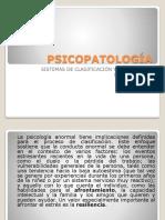 Psicopatología-clasificación y Diagnostico